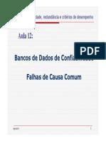 Aula 12 - Bancos de Dados + FCC - 2013 - 17P.ppt