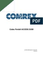 ACCESS 2USB Manual Spanish