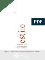 Manual de estilo para personal sanitario (48 págs.)