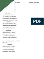Himno Del Municipio de Cajibio