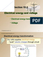 Section 15.2 Electrical Energy and Voltage