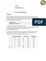 Ejercicios estadística bidimensional resueltos 6