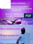 MODELO APRESENTAÇÃO TCC