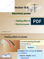 Section 15.5 Electrical Power