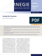 Losing the Caucasus