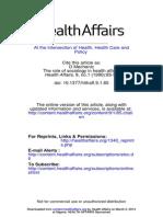Health Aff 1990 Mechanic 85 97