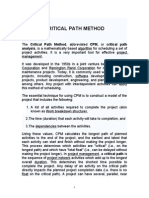 Critical Path Method_yatri