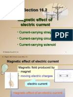 Section 16.2 Magnetic Effect of Electric Current