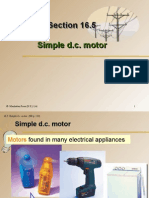 Section 16.5 Simple d.c. Motor