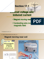 Section 17.1 Induced Voltage and Induced Current