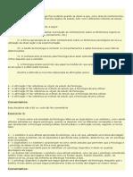 Exercicios da disciplina on-line da prof. Renata que ela pediu para imprimir - 01 à 15