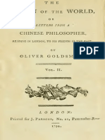 Letters of Chinese Philosopher vol,2 - 1794
