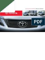Certificado Garantia Toyota