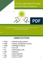 Seminar energy management