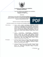 Peraturan Menteri ESDM RI Nomor 25 Tahun 2013