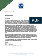 shoshana sprague letter of recommendation colleen dundon