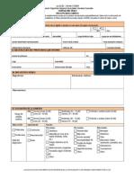 Formulario Unico Discapacidad Auditiva 2010--