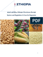 AGP-AMDe Ethiopia Warehouse Receipt System a Case for Expansion Report