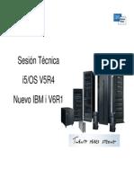Sesion Tecnica V5R4 y Nuevo V6R1