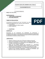 Documento Grupo de Talentos 2013