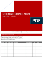 Essential Consulting Forms