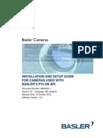 AW00061107000_Install and Setup Guide Pylon Cameras
