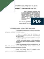 Voto Em Separado - Paes Landim - PEC 33