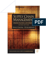 Supply Chain Management Strategy Planning and Operations Second Edition
