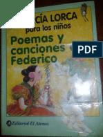 García Lorca, Federico - Poemas y canciones para los niños - Ed. Ateneo, 2004