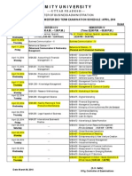 Scheme MBA -G - Revised