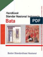 Handbook SNI - Bata