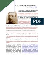 Li 06 - Vygotsky and Language Acquisition