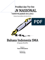 Soal Try Out Un 2012 Sma Bahasa Indonesia Ipa Ips Paket 04