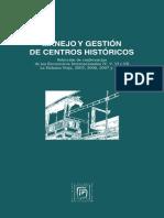 Manejo y Gestion de Centros Historicos