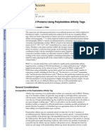 Purification of Proteins Using Polyhistidine Affinity Tags