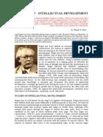 Li 05 - Jean Piaget - Intellectual Development