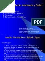 Medio Ambiente y Salud AGUA 24-01-2013