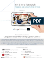 Google Mobile in Store Research Studies