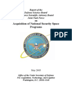 Acquisition of National Security Space Programs (2003)