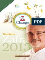 Recetario Chango 2013