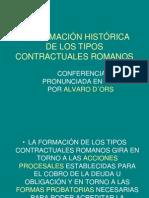 FORMACION TIPOS CONTRACTUALES
