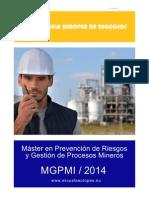 Máster en Prevención de Riesgos y Gestión de Procesos Mineros - MGPMI - 2014 - EEN Perú_opt_1394107157