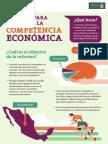 25-03-14 Infografia - Reforma para fomentar la Competencia Económica