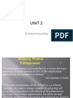 UNIT 2 Entrepreneurship MBA