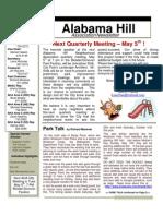 25 Apr 09 Newsletter 2