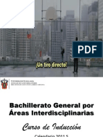 Bachillerato General Por Areas Interdisciplinarias
