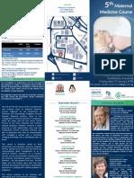 Brochure MaternalMedicine 20140214 v2