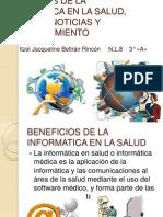 Beneficios de La Informatica en La Salud, Trabajo #18 o19