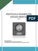 Examen Mental Ejemplo