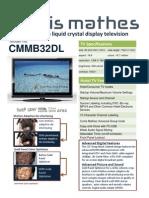 New CM 32 Spec Sheet NC
